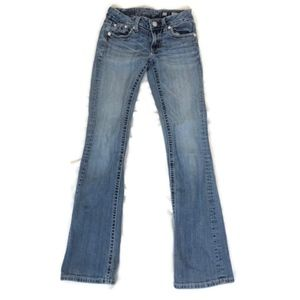 Miss Me Women's Light Wash Bootcut Stretch Jeans